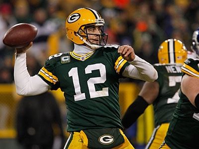 Their secondary is a concern, but Aaron Rodgers and the Packers are still the team to beat in the NFC. (Matt Ludtke/AP file photo)