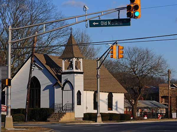 Evesham Township, NJ on Jan. 24, 2013.  Here, the Pine Grove Baptist Church.  APRIL SAUL / Staff Photographer