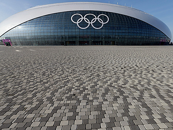 Bolshoy Ice Dome, where ice hockey will be played at the 2014 Winter Olympics, is shown. (David J. Phillip/AP)