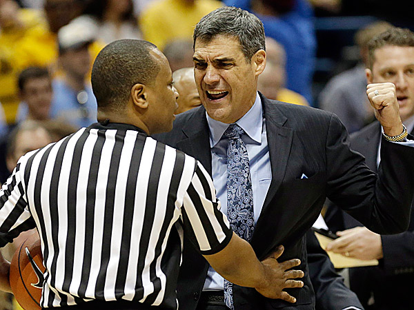 Villanova head coach Jay Wright. (Jeffrey Phelps/AP)