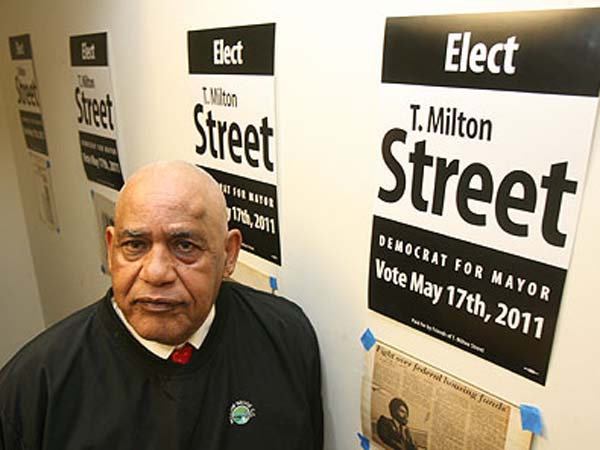 Former state Sen. T. Milton Street Sr., who spent time in federal prison, wants Philadelphia voters to know he is no felon.