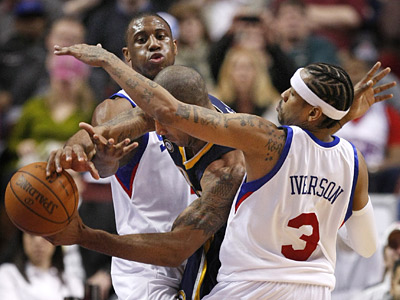 Could Thaddeus Young be traded? Will Allen Iverson return next year? Phil Jasner answers your questions. (Ron Cortes / Staff Photographer)
