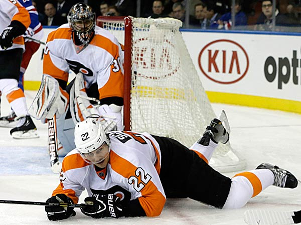 Flyers goalie Ilya Bryzgalov is playing like an all-star, like the Vezina runnerup who carried the Phoenix Coyotes a few years ago. (Kathy Willens/AP)