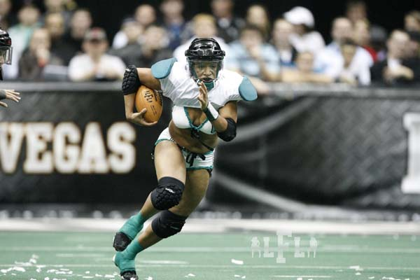 The Passion defeated the Tampa Breeze, 20-14, in the Eastern Conference Championship on Saturday, Jan 29. They will face the Los Angeles Temptation at Lingerie Bowl VIII in Las Vegas on Saturday, Feb. 6. (Photos by Eddie Perlas)