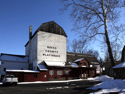 The Bucks County Playhouse on Main Street in New Hope, Pa. was closed more than a year ago. It was bought Monday. (Staff File Photo)