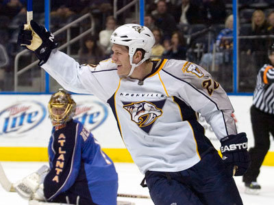 Nashville most likely won´t deal Ryan Suter who is in the last year of his contract. (AP Photo/Erik S. Lesser)