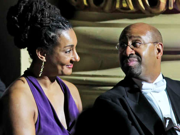Political glitterati in attendance included Lisa Nutter, and her husband, Mayor Nutter. The 155th-anniversary gala comes at a time of great challenges for the Academy and the Philadelphia Orchestra. (Michael Bryant / Staff Photographer)