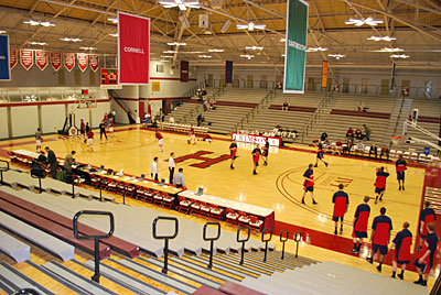 Harvard´s Lavietes Pavilion is tied with Oregon´s MacArthur Court as the second-oldest college basketball arena in Division I.