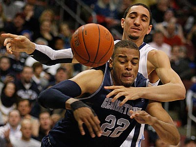 Maurice Sutton and Villanova lost their second straight game on Saturday. (Ron Cortes/Staff Photographer)