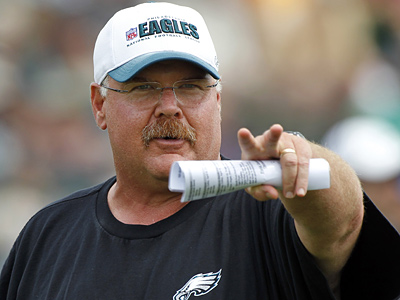 "Andy Reid said he ""goofed"" with some decisions on the Eagles´ defense last season. (AP File Photo)"
