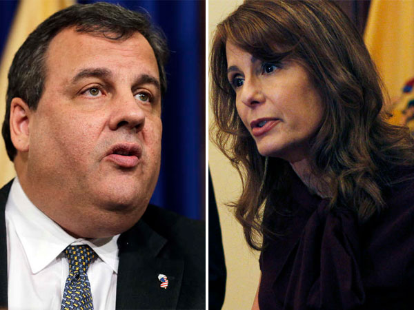 Gov. Chris Christie and the woman who wants to replace him, state Sen. Barbara Buono, head to Washington Thursday along with 900 of New Jersey´s movers and shakers.