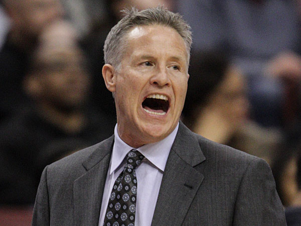 Sixers head coach Brett Brown. (Steven M. Falk/Staff Photographer)