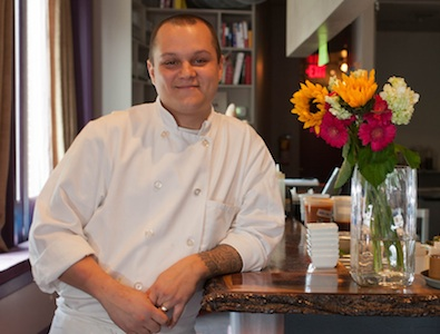 Executive chef Matt Zagorski at Hickory Lane, 2025 Fairmount Ave., Philadelphia, May 3, 2012. ( David M Warren / Staff Photographer )