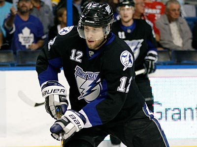 Lightning winger Simon Gagne has scored six goals in his last 8 games. (Chris O´Meara/AP Photo)