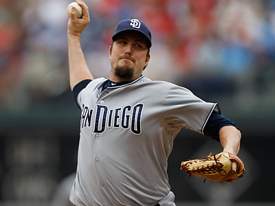 Chad Qualls is the only pitcher missing from camp. (Matt Slocum/AP file photo)