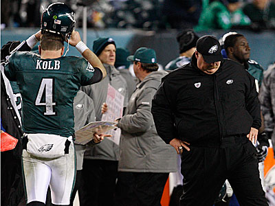 Will Andy Reid deal Kevin Kolb this offseason? (David Maialetti/Staff Photographer)