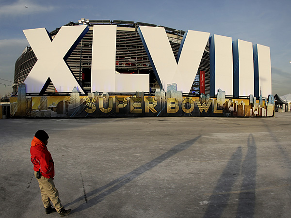Super Bowl XLVIII will be held at MetLife Stadium in East Rutherford, N.J. (Charlie Riedel/AP)