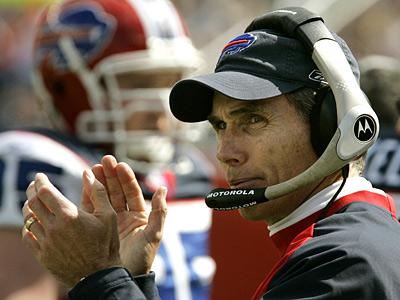 Former Buffalo Bills coach Dick Jauron has joined the Eagles coaching staff. (AP Photo/Charles Krupa)