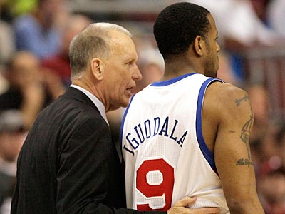 At times, Andre Iguodala has been the leader that Doug Collins envisioned him being. (Yong Kim/Staff file photo)