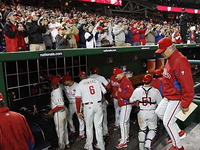 The Nationals plan on trying to prevent Nationals Park from being invaded by Phillies fans. (Manuel Balce Ceneta/AP Photo)