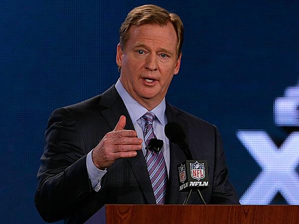 NFL Commissioner Roger Goodell. (Charlie Riedel/AP)