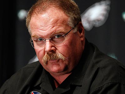 Should Andy Reid be on the hot seat? (David Maialetti/Staff Photographer)