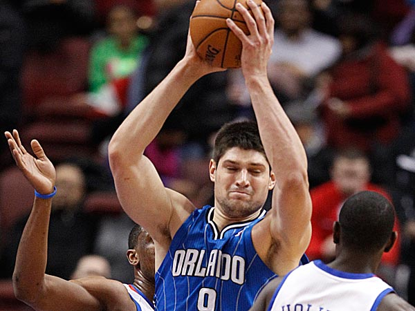 Nik Vucevic. (Ron Cortes/Staff file photo)