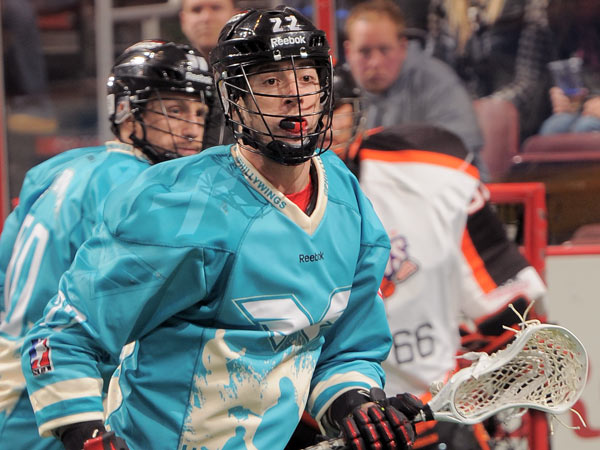 Ned Crotty is a forward for the Philadelphia Wings/ (Photo provided by Philadelphia Wings)