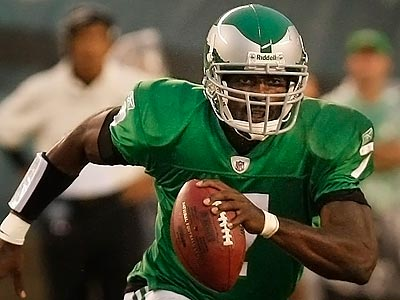 Michael Vick and the Eagles have had a busy offseason. (Ron Cortes/Staff Photographer)