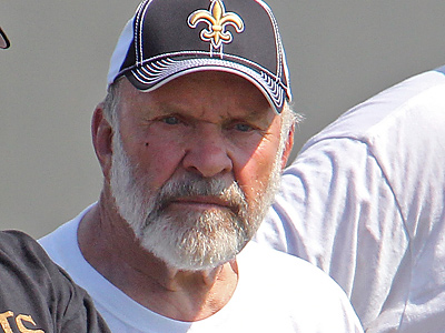 Even though he was retired, Howard Mudd spent last preseason as a consultant for the Saints. (AP Photo/Bill Haber)