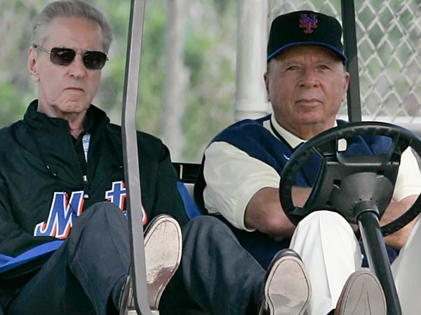 Fred Wilpon and Saul Katz are moving forward on opening a casino next to Citi Field. (AP Photo/Nati Harnik)