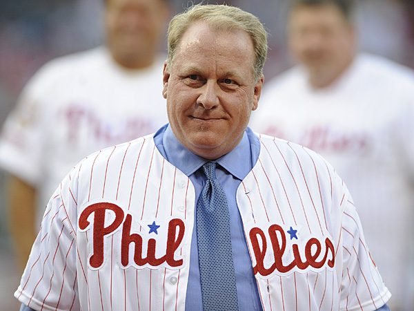 Former Phillies pitcher Curt Schilling. (AP)