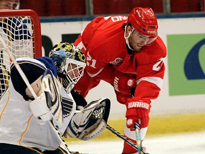 The Flyers traded away Ole-Kristian Tollefsen to Detroit for forward Ville Leino. (AP Photo/Niklas Larsson)