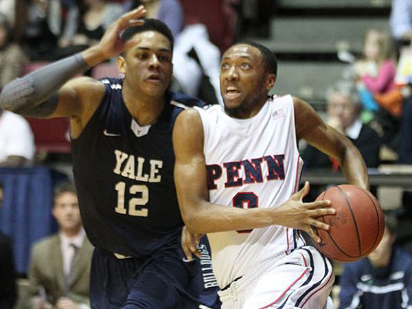 Penn´s Miles Cartwright (right) made the Ivy League´s second team in the conference´s end-of-season honors. (Charles Fox/Staff Photographer)