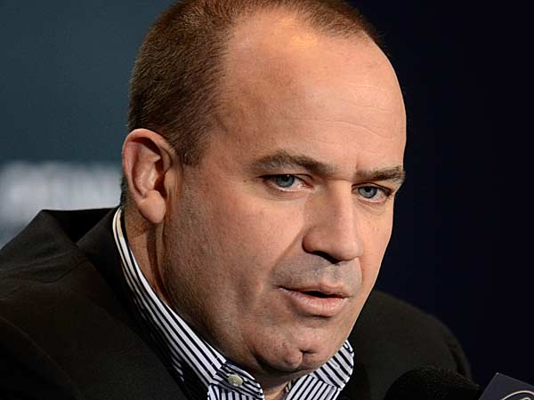 Penn State Football coach Bill O´Brien confirmed his plans to remain at the university for the 2013-14 season at a news conference in State College, Pa. on Monday, January 7, 2013. (Ralph Wilson/AP)