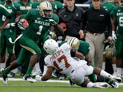Baylor´s Kendall Wright is considered one of the top wide receiver prospects in the draft. (Tony Gutierrez/AP)