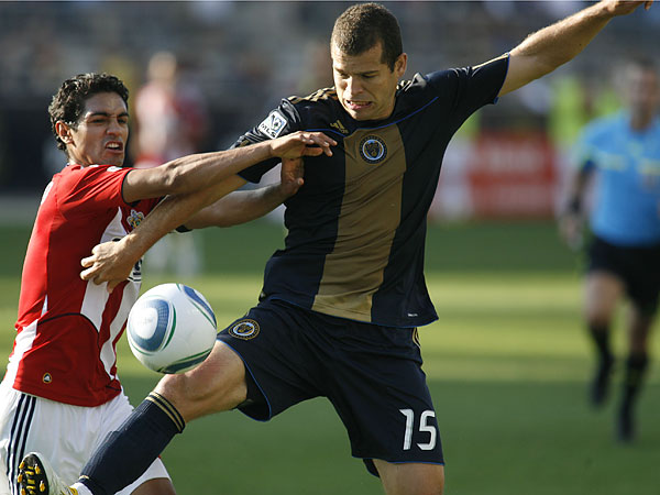 Alejandro Moreno played for the Union in the team´s inaugural season. (H. Rumph Jr/AP file photo)