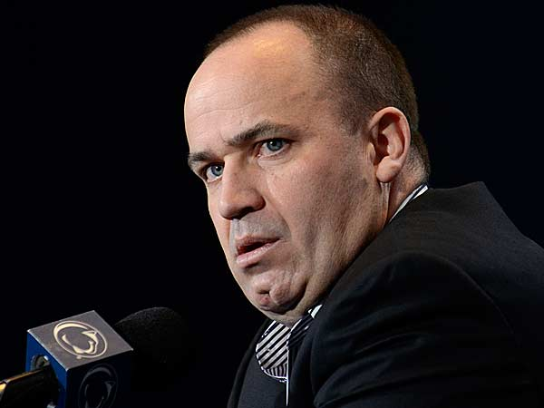 Penn State NCAA college football coach Bill O´Brien speaks during a news conference in State College, Pa., Monday, Jan. 7, 2013. (Ralph Wilson/AP)