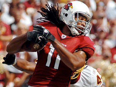 Larry Fitzgerald has reportedly already worked out with Kevin Kolb. (AP)