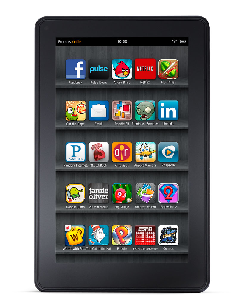 How to download apps and games to your Kindle Fire