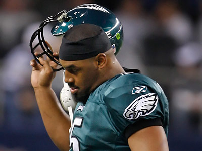 What are the chances Donovan McNabb is back next season? ( Ron Cortes / Staff Photographer )