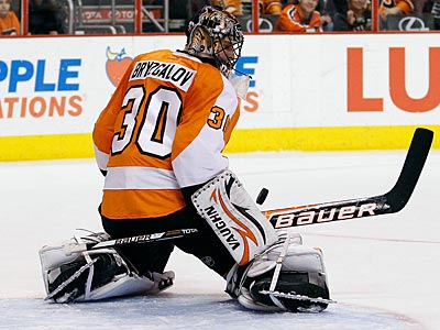 Flyers coach Peter Laviolette is still feeling out his relationship with Ilya Bryzgalov. (Yong Kim/Staff Photographer)