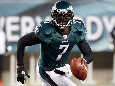 Michael Vick is a different quarterback now than he was in Atlanta. (Yong Kim/Staff Photographer)