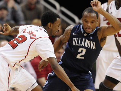 Villanova´s Maalik Wayns will submit his name for the NBA draft. (AP Photo/Timothy D. Easley)
