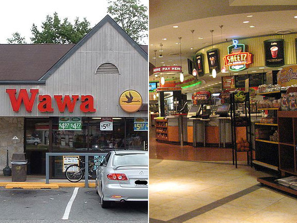 Wawa vs. Sheetz war goes national.
