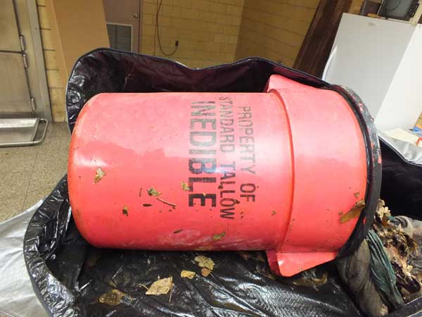 Officials are seeking help identifying the man whose body was found in this trash can in Camden County in December 2013.