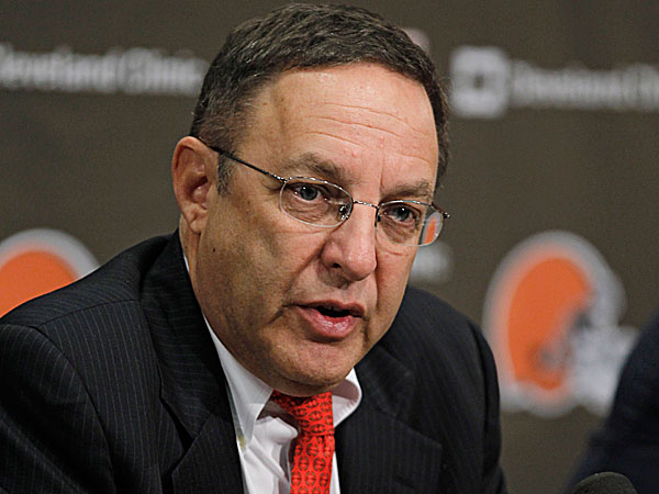Former Browns CEO Joe Banner. (Tony Dejak/AP)