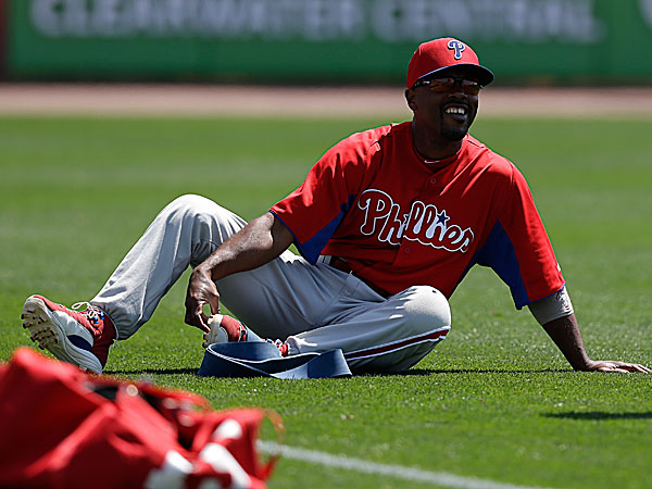 Phillies shortstop Jimmy Rollins. (Kathy Willens/AP)