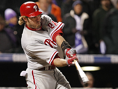 Will Jayson Werth be apart of the Phillies´ future plans. ( Ron Cortes / Staff Photographer )