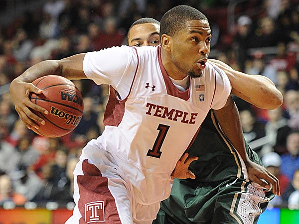Temple´s Khalif Wyatt scored a career-high 35 points against Duquesne Thursday night. (Clem Murray/Staff Photographer)